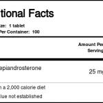 DHEA 25 mg Life Extension 100 Tabletes   Comprar Suplemento em Promoção Site Barato e Bom
