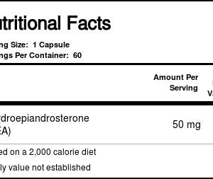 DHEA 50 mg Life Extension 60 Cápsulas   Comprar Suplemento em Promoção Site Barato e Bom