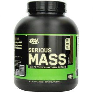Serious Mass Optimum Nutrition Chocolate 6 lbs/ 2.72 kg   Comprar Suplemento em Promoção Site Barato e Bom