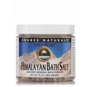 Source Naturals Crystal Balance Himalayan Bath Salt - 16 oz   Comprar Suplemento em Promoção Site Barato e Bom