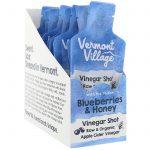Vermont Village Vinegar Shots, Organic, Apple Cider Vinegar Shot, Blueberries & Honey, 12 Pack, 1 oz (28 g) Each   Comprar Suplemento em Promoção Site Barato e Bom