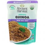 Ancient Harvest, Orgânico, Quinoa com Sal Marinho, 8 oz (227 g)   Comprar Suplemento em Promoção Site Barato e Bom