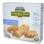 Cascadian Farm, Orgânicas, Barras Consistentes de Granola, Gotas de Baunilha, 6 Barras, 1.2 oz (35 g) Cada   Comprar Suplemento em Promoção Site Barato e Bom