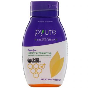Pyure, Mel Alternativo Orgânico, sem açúcar, 13,95 oz (396 g)   Comprar Suplemento em Promoção Site Barato e Bom