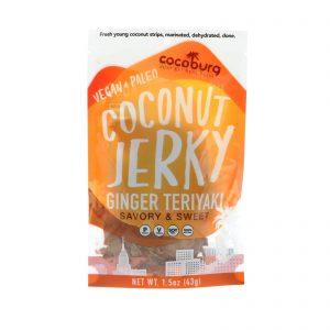 Cocoburg LLC , Charqueado de Coco, Teriyaki com gengibre, 1,5 onças (43 g)   Comprar Suplemento em Promoção Site Barato e Bom