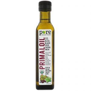 Pure Indian Foods, Organic Primaloil, Cold Pressed, Extra-Virgin, 250 ml   Comprar Suplemento em Promoção Site Barato e Bom