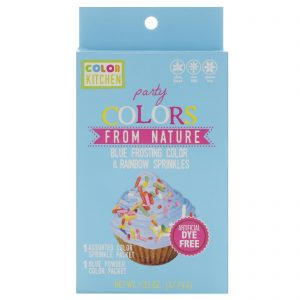 ColorKitchen, Party, Cores da Natureza, Cobertura Azul Polvilhada com Arco-Íris, 1.33 oz (37,74 g)   Comprar Suplemento em Promoção Site Barato e Bom