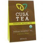 Cusa Tea, Orgânico, chá do Café da manhã inglês, 10 porções individuais, 0,04 onças (1,2 g) cada   Comprar Suplemento em Promoção Site Barato e Bom