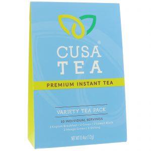 Cusa Tea, Variety Tea Pack, 10 Individual Servings, 0.04 oz (1.2 g) Each   Comprar Suplemento em Promoção Site Barato e Bom