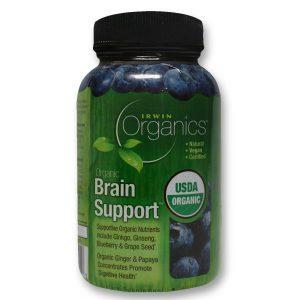 Irwin Naturals Suporte cérebro - Orgânicos 60 Tabletes   Comprar Suplemento em Promoção Site Barato e Bom