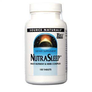 NutraDormir Multi Nutrientes e Hervas Source Naturals 100 Tabletes   Comprar Suplemento em Promoção Site Barato e Bom