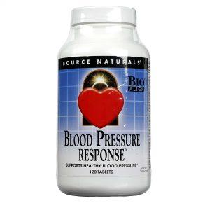 Source Naturals Blood Pressure Response - 120 Tabletes   Comprar Suplemento em Promoção Site Barato e Bom