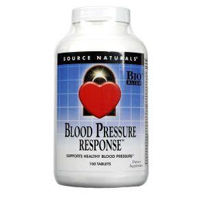 Source Naturals Blood Pressure Response - 150 Tabletes   Comprar Suplemento em Promoção Site Barato e Bom