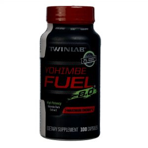Twinlab Yohimbe Fuel 100 Cápsulas   Comprar Suplemento em Promoção Site Barato e Bom