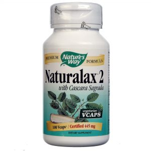 Nature's Way Naturalax 2 100 Cápsulas   Comprar Suplemento em Promoção Site Barato e Bom
