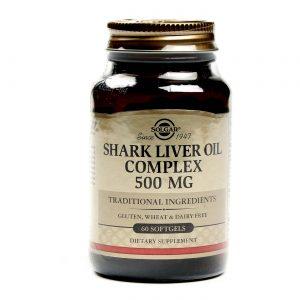 Solgar Shark Liver Oil Complexo - 60 Cápsulas em Gel   Comprar Suplemento em Promoção Site Barato e Bom