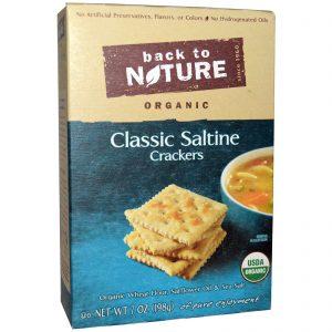 Back to Nature, Bolacha salgada clássica orgânica, 7 oz (198 g)   Comprar Suplemento em Promoção Site Barato e Bom
