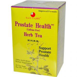 Health King, Chá de ervas para a saúde da próstata, sem cafeína, 20 sacos de chá, 1,05 oz (30 g)   Comprar Suplemento em Promoção Site Barato e Bom