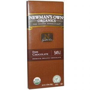 Newman's Own Organics, Barra de Chocolate Meio-Amargo, 3,25 oz. (92 g.)   Comprar Suplemento em Promoção Site Barato e Bom