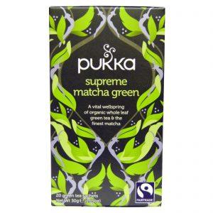 Pukka Herbs, Matcha Verde Supremo, 20 Saquinhos de Chá Verde, 1,05 oz (30 g)   Comprar Suplemento em Promoção Site Barato e Bom