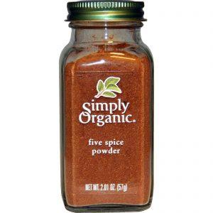 Simply Organic, Pó de cinco temperos, 57 g   Comprar Suplemento em Promoção Site Barato e Bom