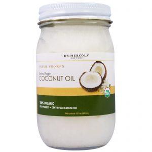 Dr. Mercola, Óleo de Coco Extravirgem Orgânico, 16 fl oz (480 ml)   Comprar Suplemento em Promoção Site Barato e Bom