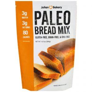 Julian Bakery, Mistura para Pão Paleo, 10,7 oz (304 g)   Comprar Suplemento em Promoção Site Barato e Bom