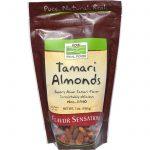 Now Foods, Alimento Real, Tamari e Amêndoas, 7 oz (198g)   Comprar Suplemento em Promoção Site Barato e Bom