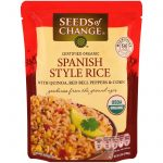 Seeds of Change, Arroz Orgânico Estilo Espanhol com Quinoa, Pimentões vermelhor e Milho, 8.5 oz (240 g)   Comprar Suplemento em Promoção Site Barato e Bom