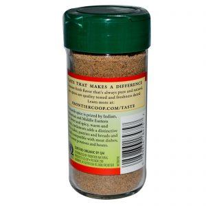 Frontier Natural Products, Semente de Cardamomo Orgânico, Moída, 2,08 onças (58 g)   Comprar Suplemento em Promoção Site Barato e Bom