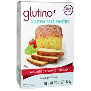 Glutino, Mistura de Pão de Sanduíche Favorito, 20,1 oz (570 g)   Comprar Suplemento em Promoção Site Barato e Bom
