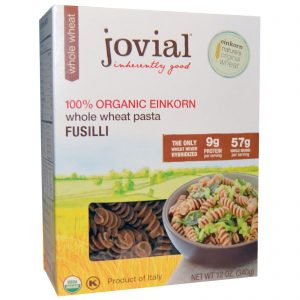 Jovial, Macarrão de Trigo Integral, Parafuso, Einkorn 100% Orgânico, 12 oz (340g)   Comprar Suplemento em Promoção Site Barato e Bom