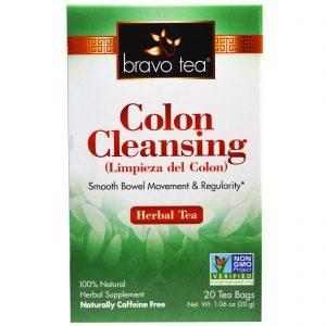Bravo Teas & Herbs, Inc., Limpeza do Cólon, Chá de Ervas, 20 Saquinhos de Chá, 30 g   Comprar Suplemento em Promoção Site Barato e Bom