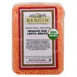 Bergin Fruit and Nut Company, Organic Red Lentil Beans, 16 oz (454 g)   Comprar Suplemento em Promoção Site Barato e Bom