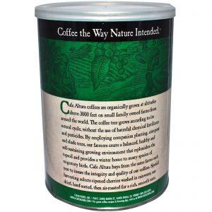 Cafe Altura, Café Orgânico, Torrefação Francesa, 12 oz (339 g)   Comprar Suplemento em Promoção Site Barato e Bom