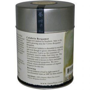 The Tao of Tea, Chá Preto Orgânico Certificado e Bergamota, Cinza do Lorde, 3,5 onças (100 g)   Comprar Suplemento em Promoção Site Barato e Bom