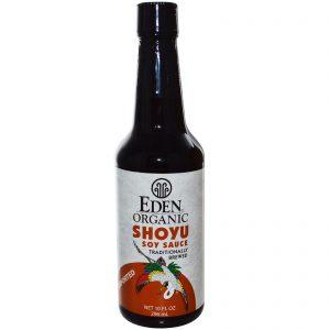Eden Foods, Molho de Soja Shoyu Orgânico, 296 ml (10 fl oz)   Comprar Suplemento em Promoção Site Barato e Bom
