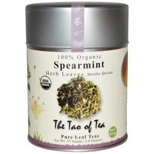 The Tao of Tea, 100% Orgânico, Folhas de Erva, Hortelã, 2,0 oz (57 g)   Comprar Suplemento em Promoção Site Barato e Bom