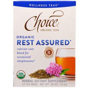 Choice Organic Teas, Orgânico, Descanso Garantido , 16 Sachês, 0,90 oz (25,6 g)   Comprar Suplemento em Promoção Site Barato e Bom