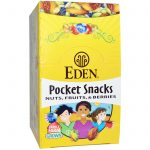 Eden Foods, Aperitivos de Bolso, Quiet Moon, Nozes, Sementes, Frutas Secas, 12 Embalagens, 1 oz (28,3 g) Cada   Comprar Suplemento em Promoção Site Barato e Bom