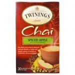 Twinings, Chai, Maçã Picante, 20 sachês, 40g   Comprar Suplemento em Promoção Site Barato e Bom
