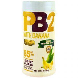 Bell Plantation, PB2, Manteiga de Amendoim em Pó com Banana, 6.5 oz (184 g)   Comprar Suplemento em Promoção Site Barato e Bom