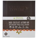 Primal Kitchen, Chocolate Amargo e Amêndoa, Colágeno Alimentado com Pasto, 12 Barras, 48 g Cada   Comprar Suplemento em Promoção Site Barato e Bom