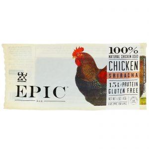 Epic Bar, Barra de Frango com Sriracha, 12 Barras, 43 g cada   Comprar Suplemento em Promoção Site Barato e Bom