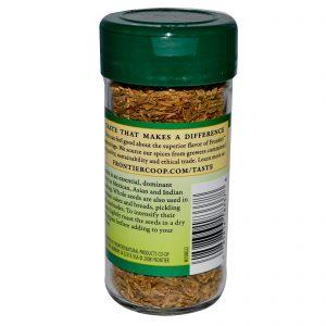 Frontier Natural Products, Semente de Cominho, Integral, 1.87 oz (53 g)   Comprar Suplemento em Promoção Site Barato e Bom