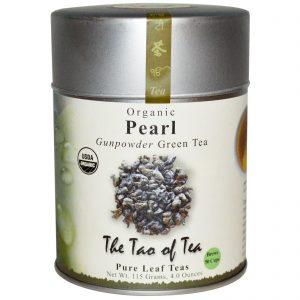 The Tao of Tea, Orgânico, Chá Verde Pólvora, Pérola, 4,0 oz (115 g)   Comprar Suplemento em Promoção Site Barato e Bom