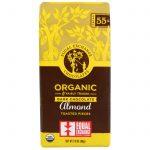Equal Exchange, Chocolate Meio-Amargo Orgânico, Pedaços de Amêndoas Torradas, 2,8 oz (80 g)   Comprar Suplemento em Promoção Site Barato e Bom