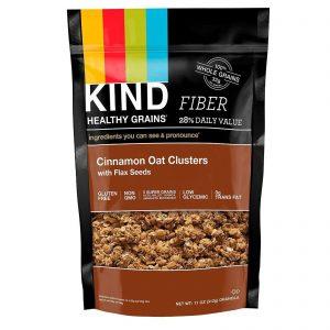 KIND Bars, Cereais Saudáveis, Aveia e Canela com Sementes de Linhaça, 11 oz (312 g)   Comprar Suplemento em Promoção Site Barato e Bom