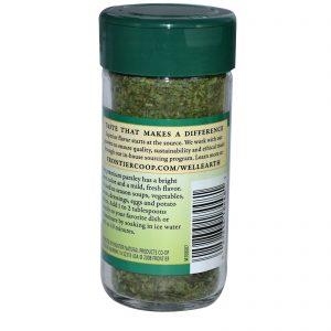 Frontier Natural Products, Flocos de Salsa, 0.25 oz (7 g)   Comprar Suplemento em Promoção Site Barato e Bom