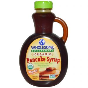 Wholesome Sweeteners, Inc., Xarope Orgânico para Panquecas, Original, Espesso e Rico, 20 fl oz (591ml)   Comprar Suplemento em Promoção Site Barato e Bom